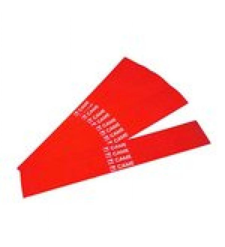 PAQUETE DE 20 BANDAS REFLECTANTES ROJAS PARA MASTIL 001-G0401,001-G0601 CAME