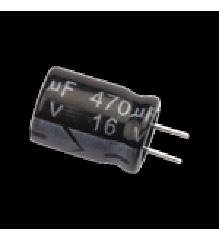 CAPACITOR ELECTROLITICO 470 MF 16 V.