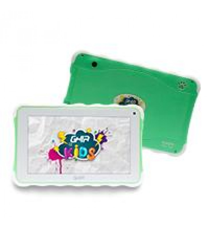 TABLET GHIA KIDS 7 TODDLER GTAB718V/QUAD CORE/1GB/8GB/2CAM/WIFI/BLUETOOTH/ANDROID 8.1 GO EDITION / V