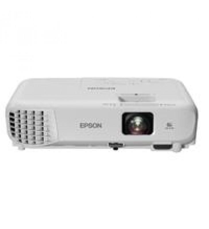 VIDEOPROYECTOR EPSON POWERLITE X05 3LCD XGA 3300 LUMENES USB HDMI WIFI OPCIONAL