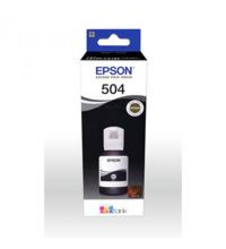 CARTUCHO EPSON MODELO T504 NEGRO PARA L4150 L4160 L6161 L6171 L6191