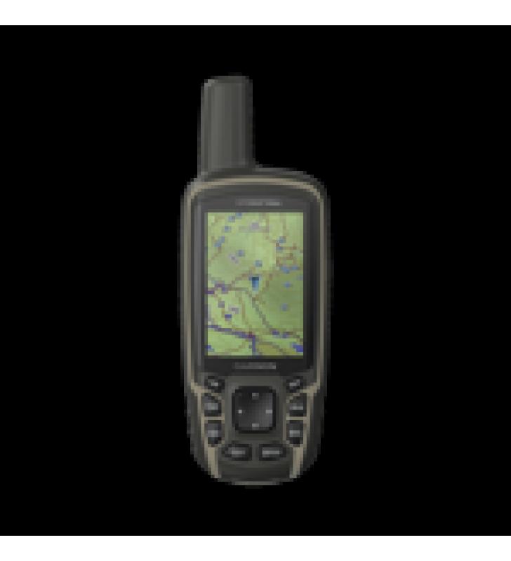 GPS PORTATIL GPSMAP 64SX, CUENTA CON SENSORES DE NAVEGACION, ALTIMETRO, BRUJULA Y CALCULO DE AREAS.