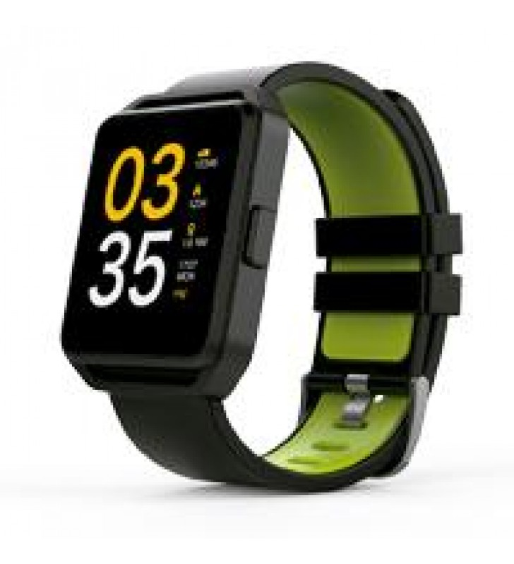 GHIA SMART WATCH/ PANTALLA 1.54 TOUCH / BT / IOS / ANDROID / NEGRO - VERDE