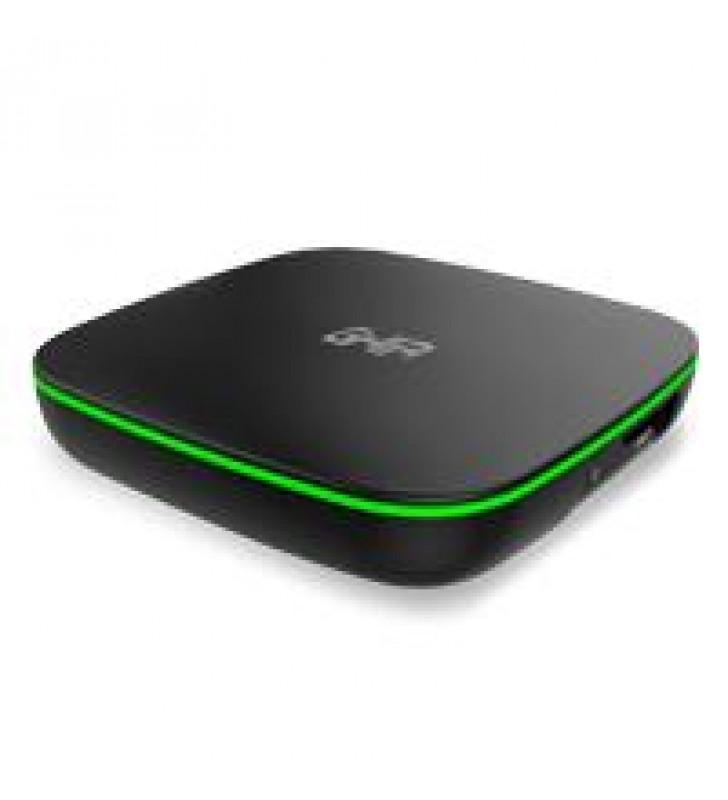 SMART TV BOX GHIA GAC-116/QUAD CORE/1GB/8GB/LAN/WIFI/HDMI/AV/CR/ANDROID 6.0/NEGRO-VERDE