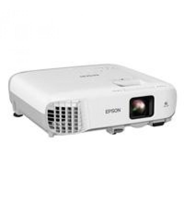 VIDEOPROYECTOR EPSON POWERLITE W39 3LCD WXGA 3500 LUMENES HDMI RED (WIFI OPCIONAL)