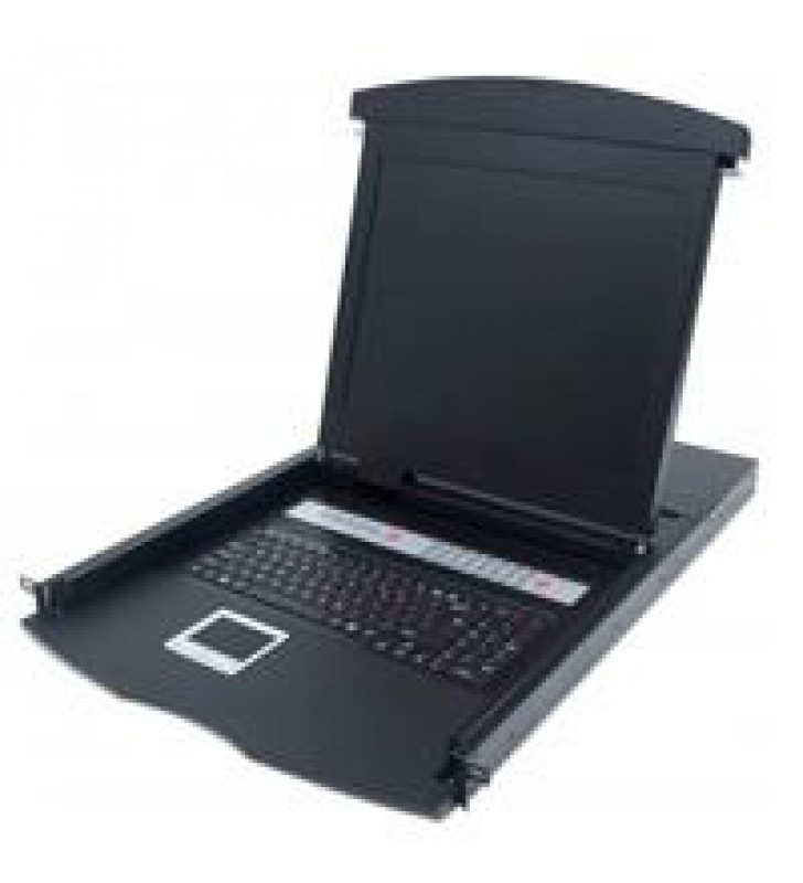 MUX KVM INTELLINET RACKMOUNT 161 PS2/USB LCD 17