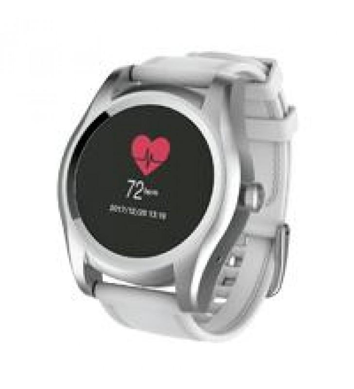 GHIA SMART WATCH CYGNUS /1.1 TOUCH/ HEART RATE/ BT/ SENSOR G/ SIM CARD 2G/GAC-144 BLANCO