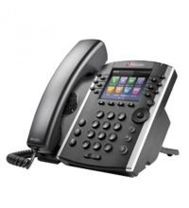 TELEFONO IP POLYCOM VVX 411 POE PARA 12 LINEASGIGABIT ETHERNET(NO INCLUYE FUENTE DE PODER)