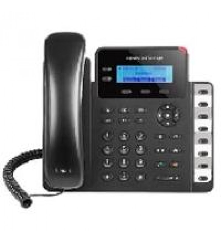 TELFONO IP BASICO GIGABIT DE 2 LNEAS 2 CUENTAS SIP CON 3 TECLAS DE FUNCIN 8 TECLAS DE EXTENSIN BLF Y