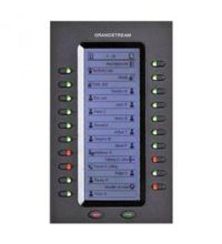 MDULO DE EXPANSIN CON 20 TECLAS Y 40 REGISTROS BLF PARA TELEFONOS MODELO GXP2140 GXP2170 Y GXV3240.