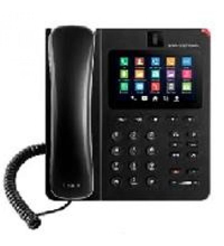 TELEFONO IP ANDROID DE VIDEOCONFERENCIA GIGABIT CON 6 CUENTAS SIPPANTALLA TACTIL CAPACITIVAAUDIO HDW