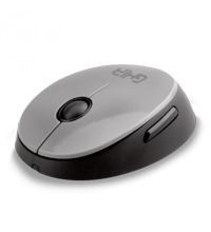 MOUSE INALAMBRICO GM500G GHIA COLOR NEGRO/GRIS