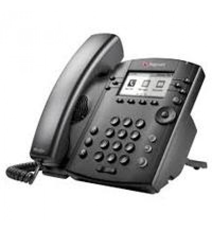 TELEFONO IP POLYCOM VVX 311 POEPARA 6 LINEAS GIGABIT ETHERNET(NO INCLUYE FUENTE DE PODER)