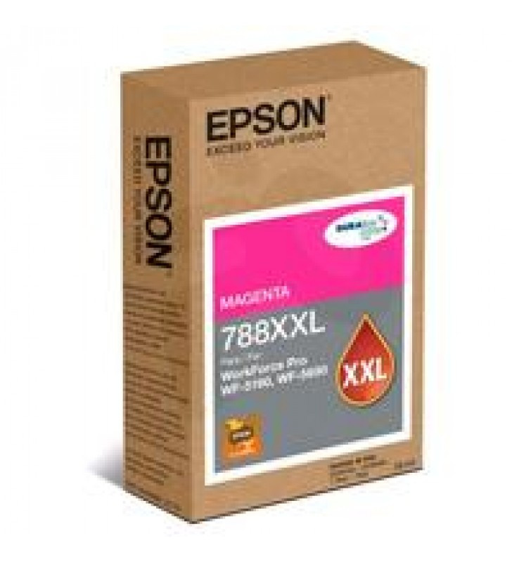 CARTUCHO EPSON MODELO T788XXL MAGENTA PARA WF-5190 WF-5690 ALTA CAPACIDAD