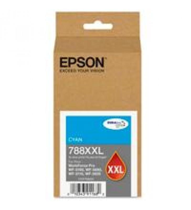 CARTUCHO EPSON MODELO T788XXL CYAN PARA WF-5190 WF-5690 ALTA CAPACIDAD