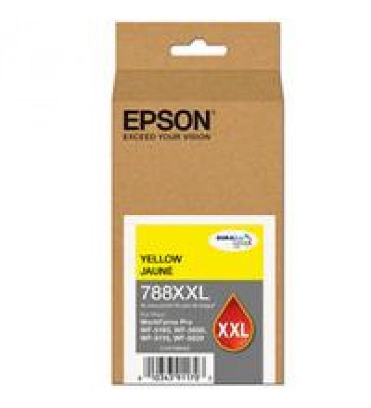 CARTUCHO EPSON MODELO T788XXL AMARILLO PARA WF-5190 WF-5690 ALTA CAPACIDAD