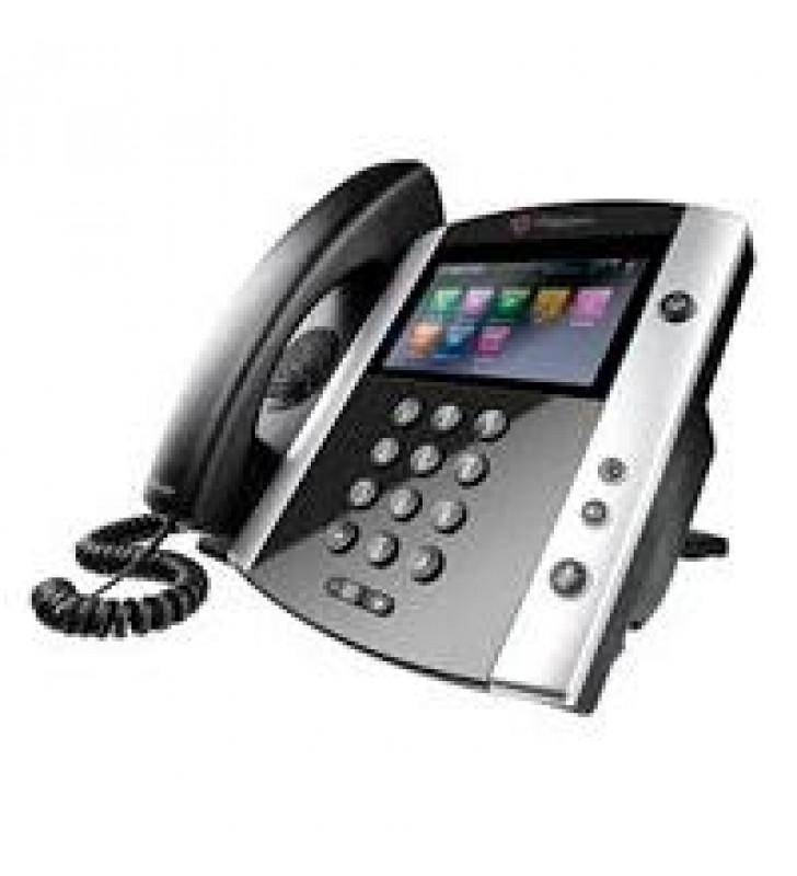 TELEFONO IP POLYCOM VVX 601 EDICION SKYPE FOR BUSINESS POE PARA 16 LINEAS(NO INCLUYE FUENTE DE PODER