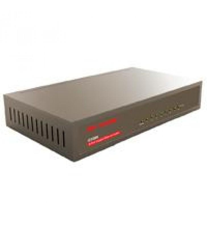 SWITCH G1008 IP-COM NO ADMINISTRABLE 8 PUERTOS 10/100/1000 MBPS PROTECCION RAYOS 4KV PLUG  AND  PLAY