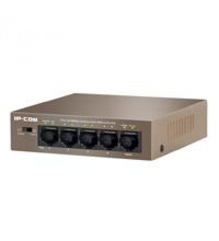 SWITCH F1105P IP-COM POE + DE 5 PUERTOS 10/100MBPS 4-POE IEEE 802.3AF POE: 58 VATIOS