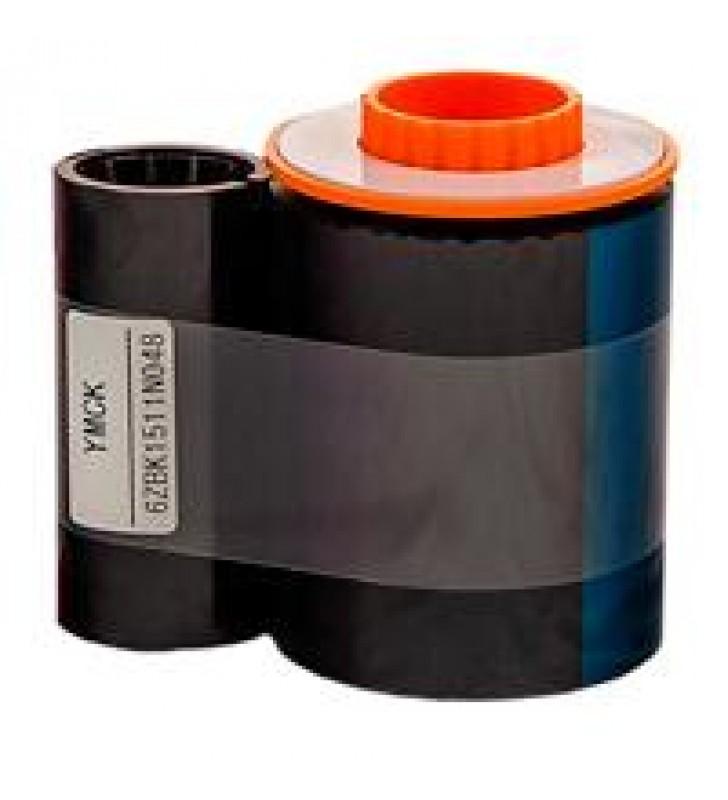 CINTA DPM  PARA IMPRESORA DE RE-TRANSFERENCIA (TARJETAS PVC) DASCOM DC-7600 COLOR CMYK (500 IMAGENES