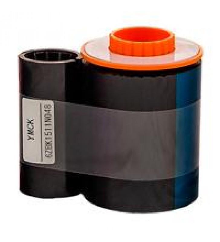 CINTA DPM PARA IMPRESORA DE RE-TRANSFERENCIA (TARJETAS PVC) DASCOM DC-7600 COLOR CMYKK (400 IMAGENES