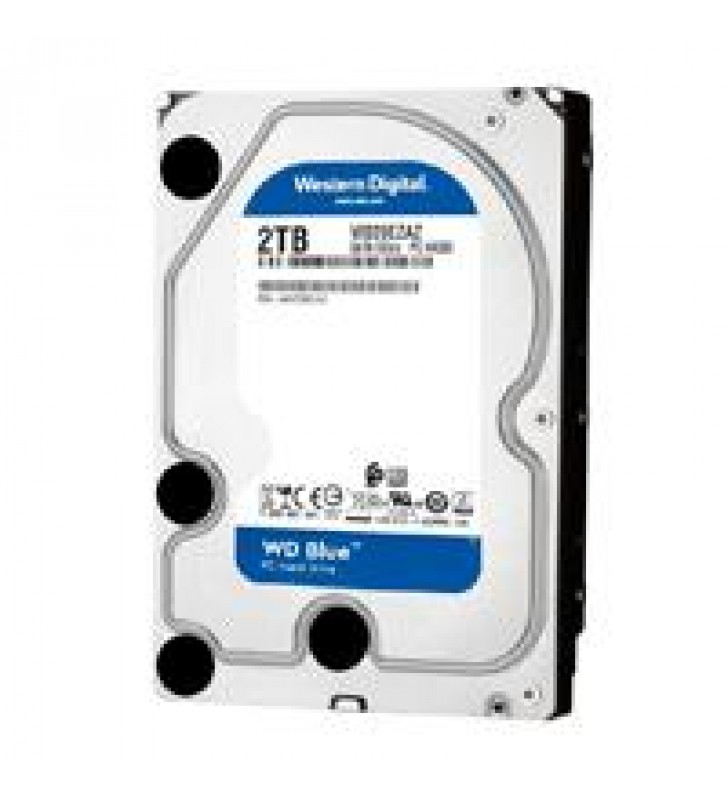 DD INTERNO WD BLUE 3.5 2TB SATA3 6GB S 256MB 5400RPM P/PC COMP BASICO