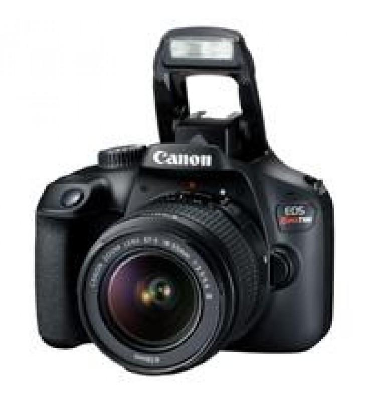 CAMARA CANON EOS REBEL T100 18 MP CMOS PANTALLA 2.7 FULL HD 30P EF-S 18-55MM F/3.5-5.6 III