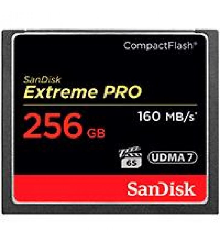 MEMORIA SANDISK 256GB COMPACTFLASH EXTREM PRO 160/150MBS VPG-20