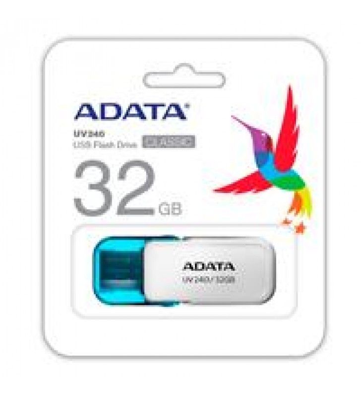MEMORIA ADATA 32GB USB 2.0 UV240 BLANCO