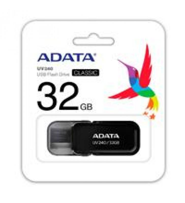 MEMORIA ADATA 32GB USB 2.0 UV240 NEGRO