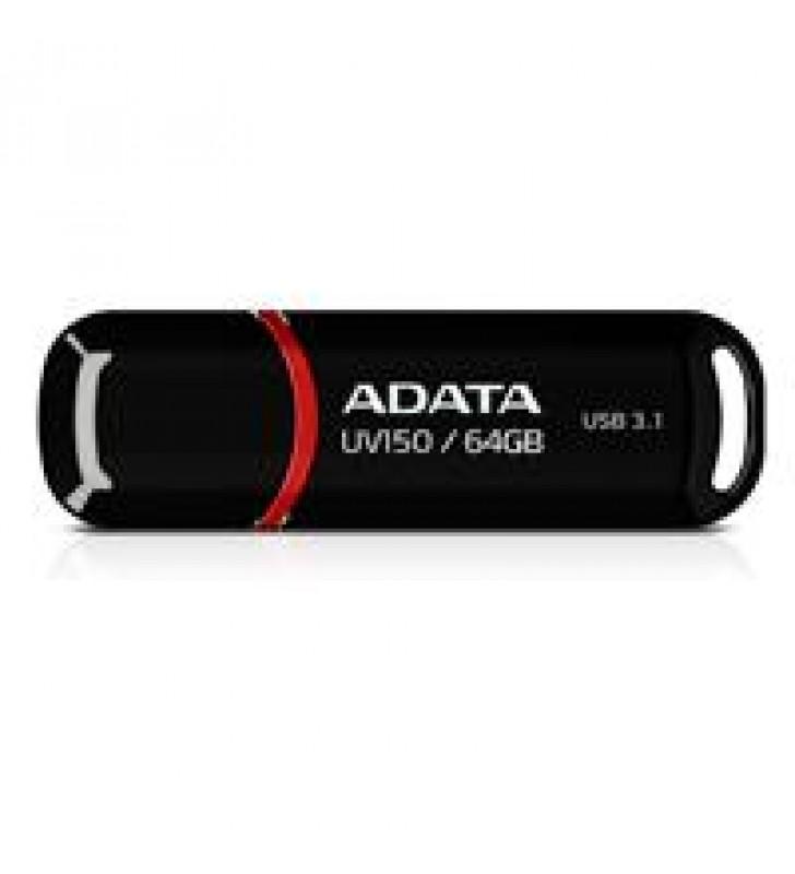 MEMORIA ADATA 64GB USB 3.2 UV150 NEGRO