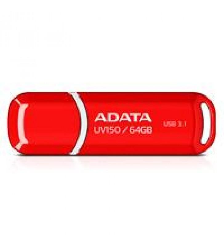 MEMORIA ADATA 64GB USB 3.2 UV150 ROJO