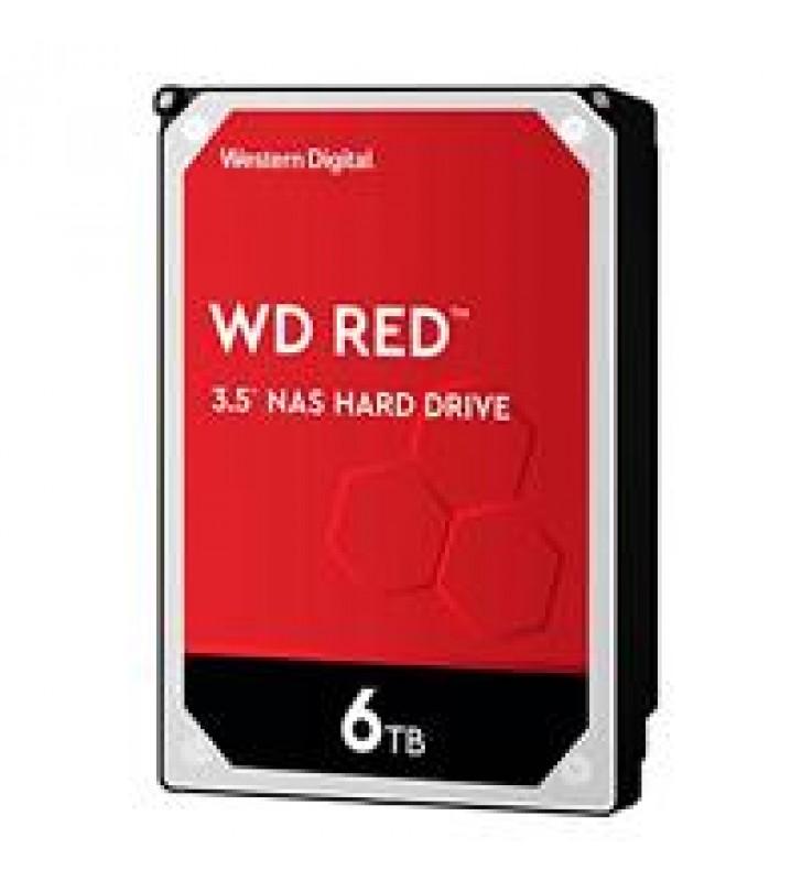 DD INTERNO WD RED 3.5 6TB SATA3 6GB/S 256MB 24X7 HOTPLUG P/NAS 1-8 BAHIAS