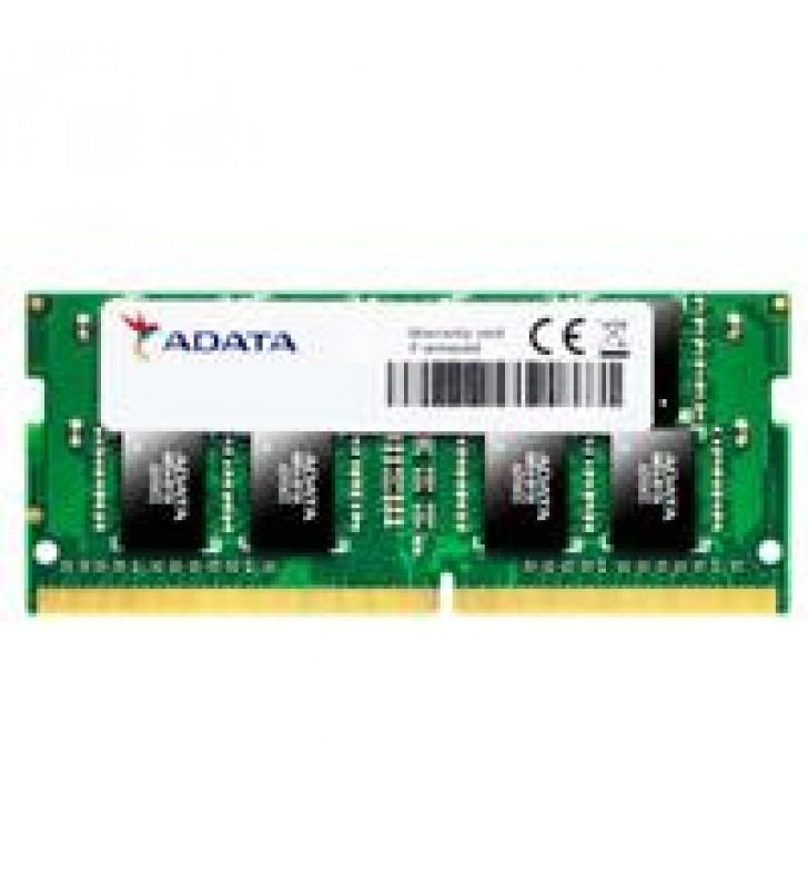 MEMORIA ADATA SODIMM DDR4 4GB PC4-21300 2666MHZ CL19 260PIN 1.2V LAPTOP/AIO/MINI PCS