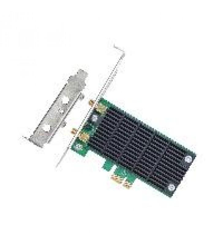 TARJETA DE RED PCI EXPRESS INALAMBRICA TP-LINK ARCHER T4E AC1200 5GHZ867MB/2.4GHZ300MB 2 ANT DESMONT