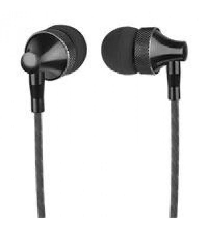 AUDIFONOS IN-EAR CON MICROFONO PERFECT CHOICE STRETTO NEGRO