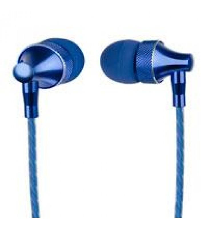 AUDIFONOS IN-EAR CON MICROFONO PERFECT CHOICE STRETTO AZUL