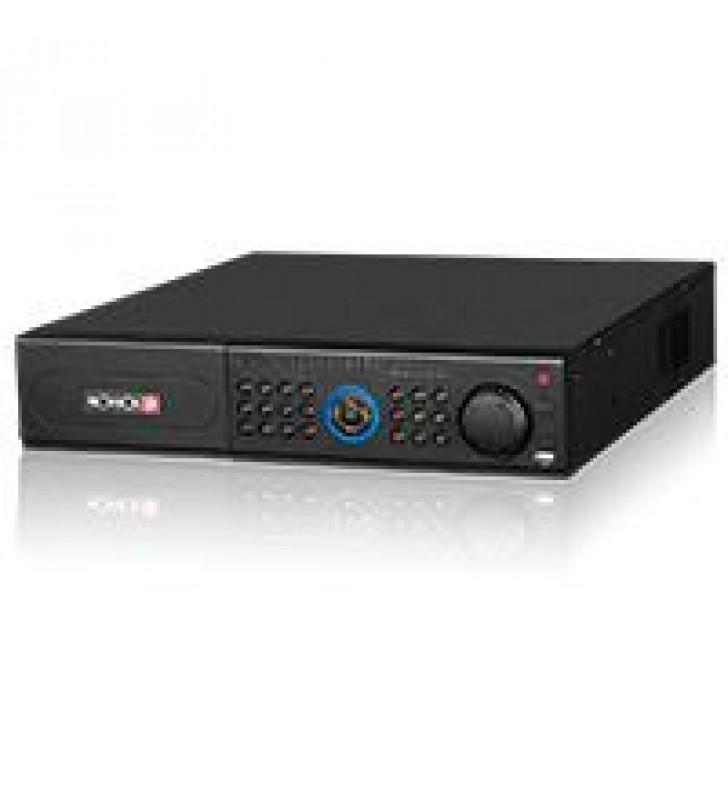 NVR PROVISION ISR DE 64 CANALES HASTA 8 MP NO POE ULTRA HD 4K ONVIF H.265 2 UR P2P PTZ ALARMA 8 DD N