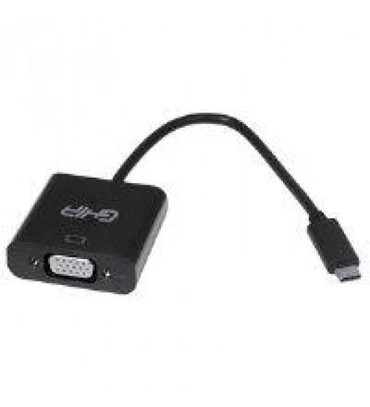 ADAPTADOR GHIA USB 3.1 TIPO C MACHO A VGA HEMBRA