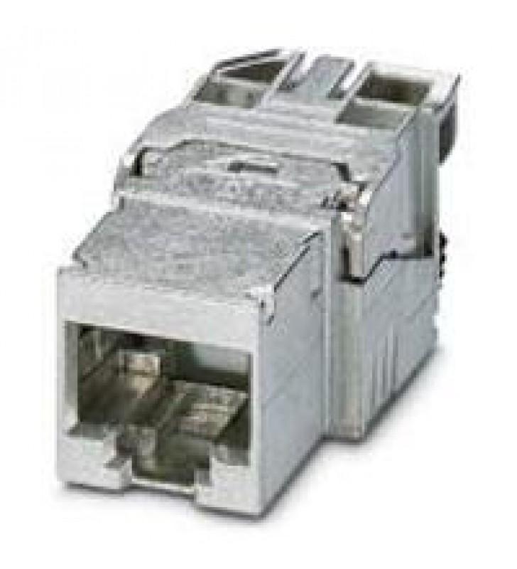 JACK RJ45 PHOENIX CONTACT TIPO CONSTRUCCION IP20 8P / 10 GBITS CAT 6