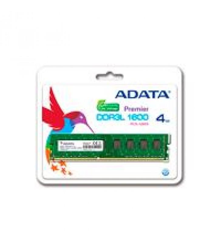 MEMORIA ADATA UDIMM DDR3L 4GB PC3L-12800 1600MHZ CL11 240PIN 1.35V PC
