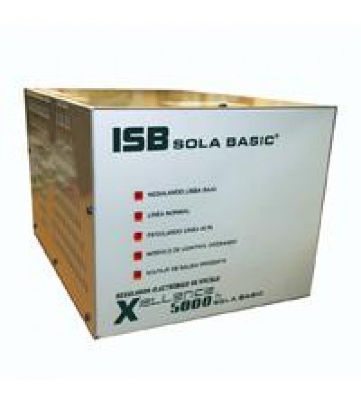 REGULADOR ELECTRONICO DE VOLTAJE SOLA BASIC  XELLENCE 2000VA 2 FASES 220 VCA.