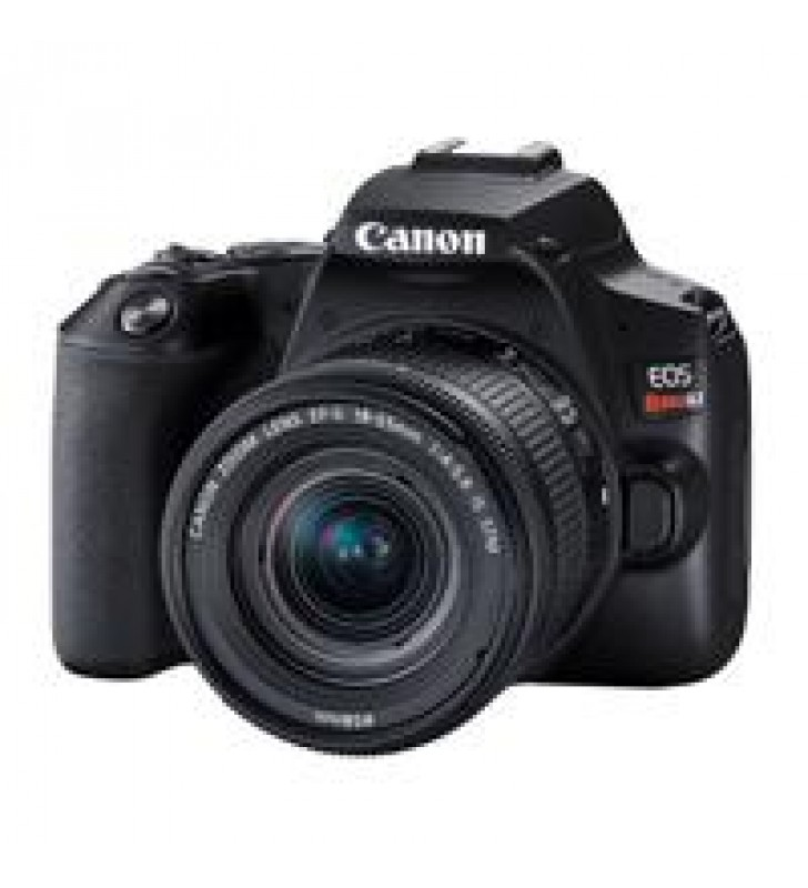 CAMARA CANON EOS REBEL SL3 CON LENTE EF-S 18-55MM IS STM 24.1 MP LCD 3 PLG.TACTIL WIFI BLUETOOTH