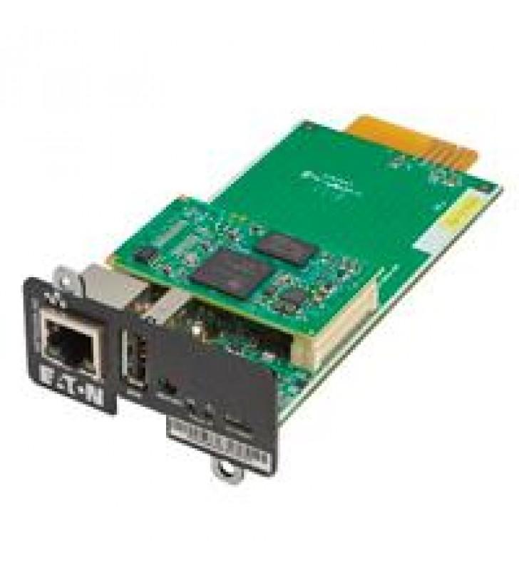 TARJETA DE RED EATON PARA MONITOREO DE UPS-COMPATIBLE CON UPS 5P 5PX 9PX 9PXM 9SX 93PM NETWORK-M2