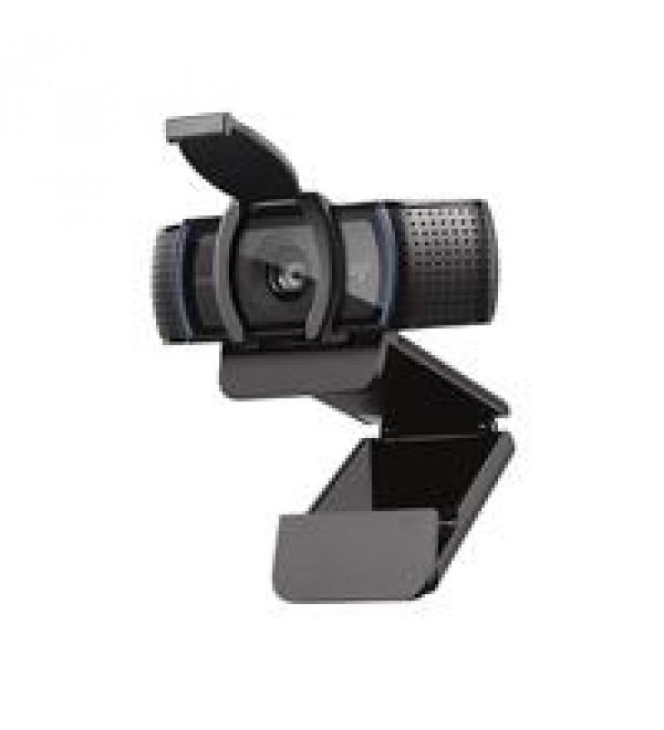 CAMARA WEB LOGITECH C920S COLOR NEGRO FULL HD 1080P A 30 FPS TAPA PARA LA LENTE CAMPO VISUAL 78O 2 M