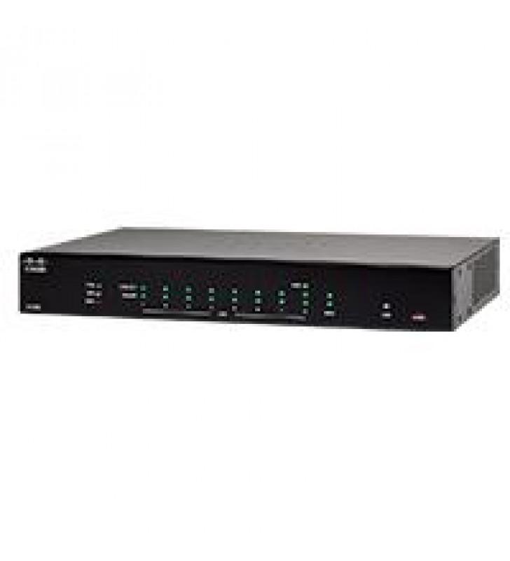 ROUTER CISCO SMB // ALAMBRICO // 8 PUERTOS RJ-45 GIGABIT ETHERNET // VLAN // VPN // FIREWALL