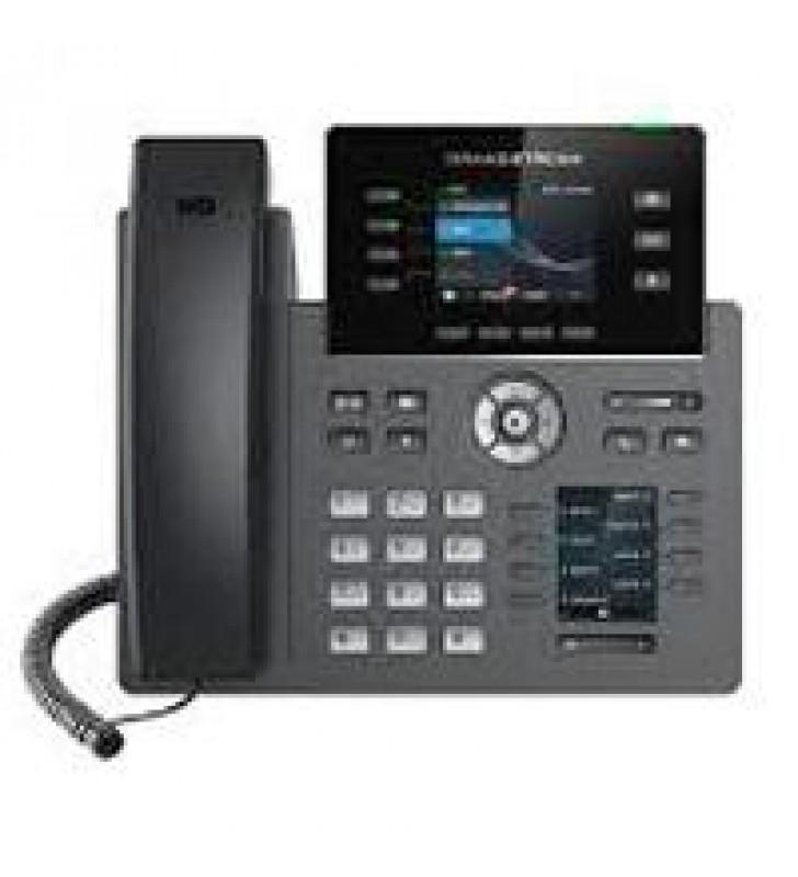 TELEFONO IP 4 CUANTAS SIP DOS PANTALLAS A COLOR VISTA FRONTAL INTERCAMBIABLE FIRNWARE DUAL GESTION C
