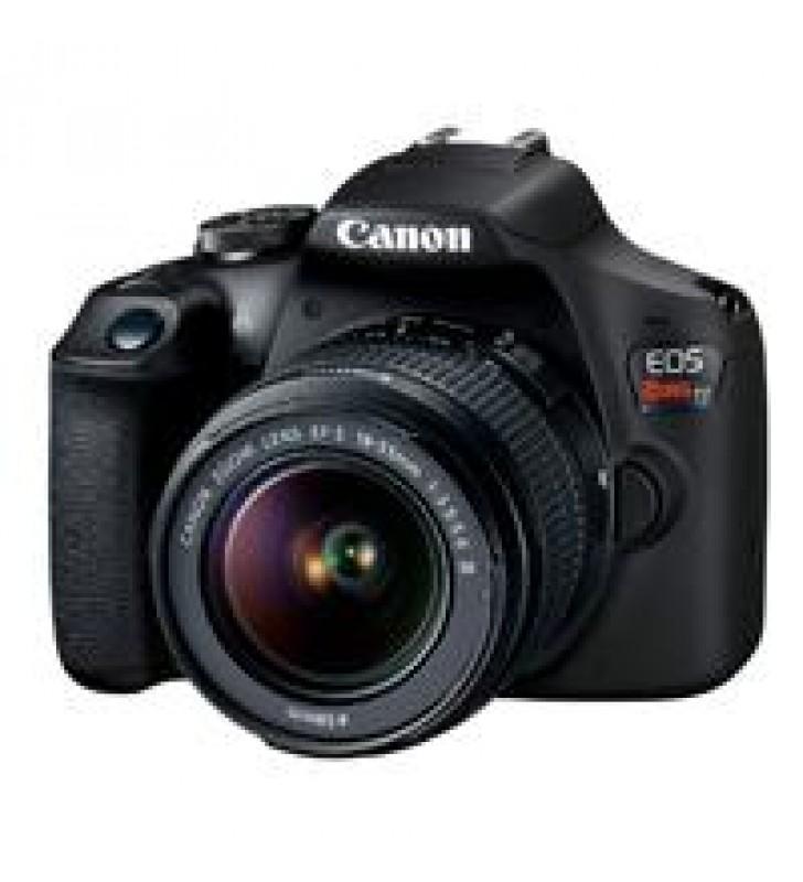 CAMARA CANON EOS REBEL T7 24.10 MP C/LENTE 18-55MM CMOS WIFI NFC LCD 3.0 FULL HD