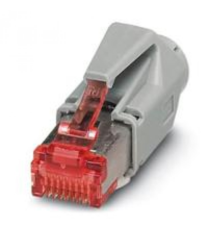 CONECTOR ENCHUFABLE RJ45 PHOENIX CONTACT IP208 POLOS CAT6 - CUC-STD-C1PGY-S/R4E81