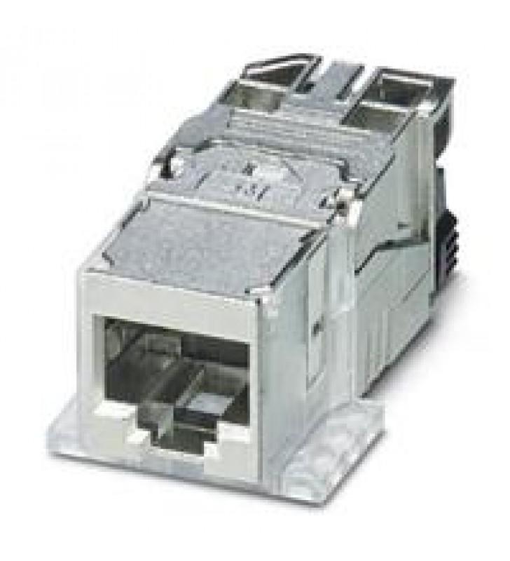 RJ45 INSERTO HEMBRA PHOENIX CONTACT IP208 POLOS10 GBIT/S CAT6A - CUC-F-J1ZNI-S/R4IDC8
